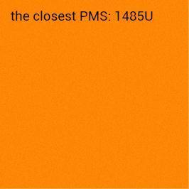 Brillanthaftpapier orange 70g/m2 (anbefalet udskrivning sort)