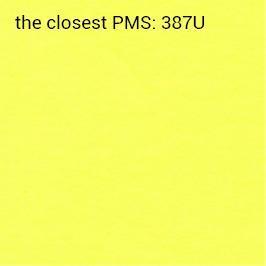 Brillanthaftpapier gelb 70g/m2 (anbefalet udskrivning sort)