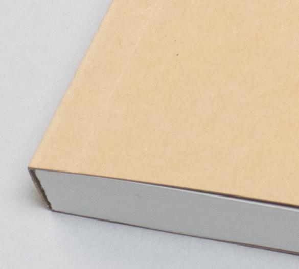 MN11-KRAFT Mindnotes av mjukomslag av papper KRAFT